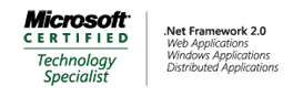 Microsoft Certified Technology Specialist: .Net Framework 2.0, Distributed Applications, Windows Applications, Web Applications